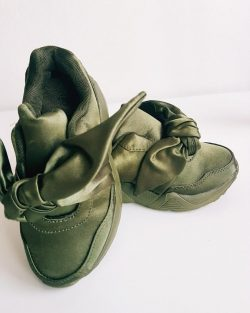Tenisky Army Green