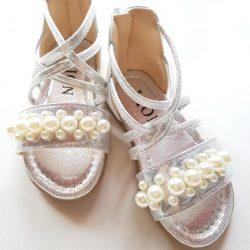 Sandále GLAM - SILVER