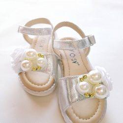 Sandále PEARL - SILVER