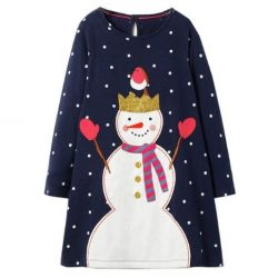 Šaty Snowman