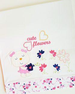 Detská deka FLOWER