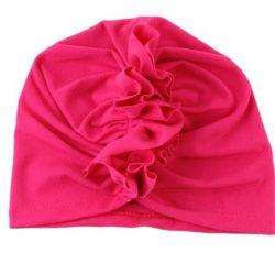 tmavo ružová čelenka